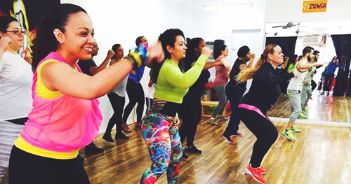 Latin Fever On2 Zumba Class